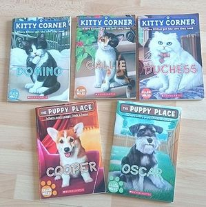 Kitty Corner & The Puppy Place Books Short Novels